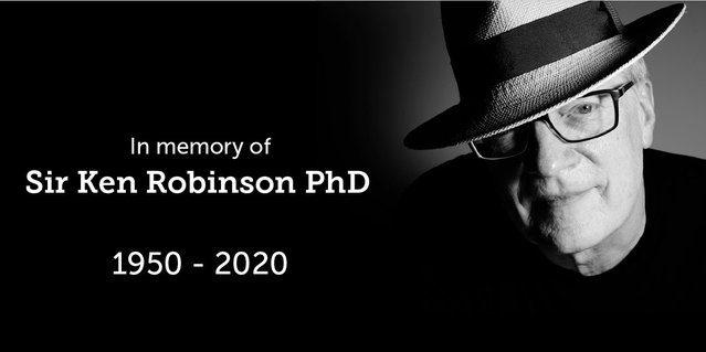 Sir Ken Robinson Champion of Creativity